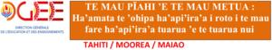 Ha'amata te 'ohipa ha'api'ira'a mai te 18 nō mē.